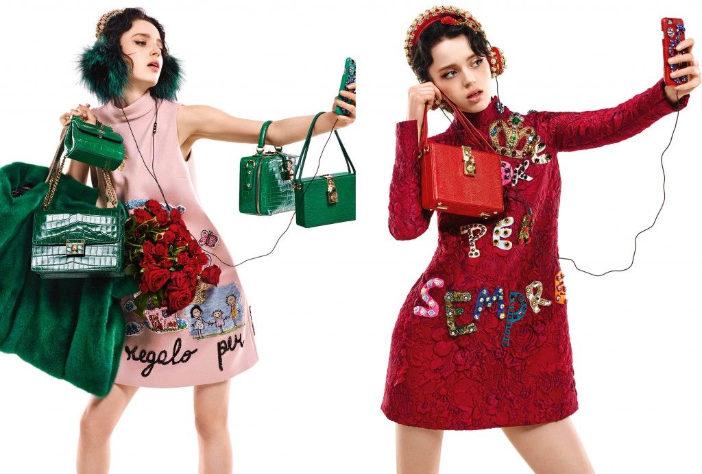 dolce-and-gabbana-fw15-selfies-campaign