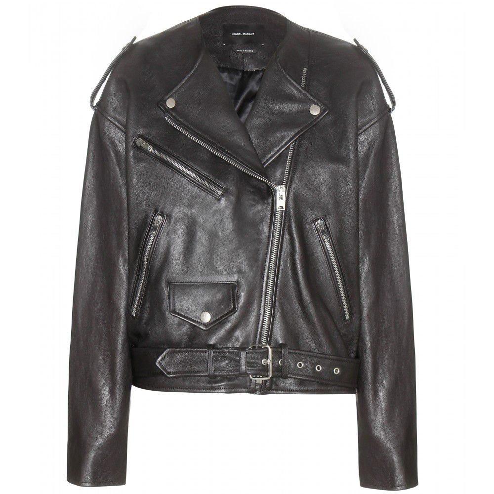 LAIA'S PICK: Isabel Marant Audric biker jacket available at MYTHERESA.com