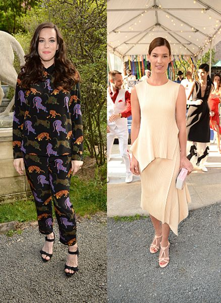 * Get Liv Tyler's Stella McCartney Pre-Fall 2015 jumpsuit from MYTHERESA.com