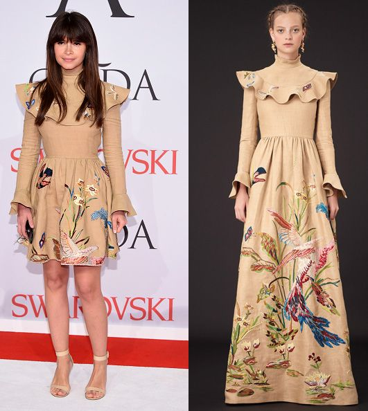 Miroslava Duma in Valentino Resort 2015