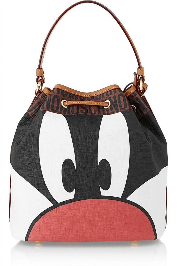 moschino-looney-tunes-sylvester-faux-textured-leather-bucket-bag
