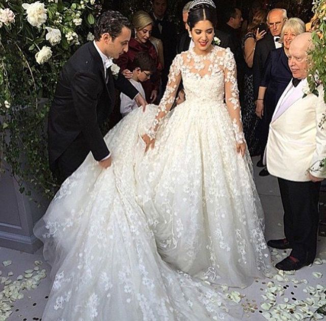 noor-fares-wedding-dress-giambattista-valli