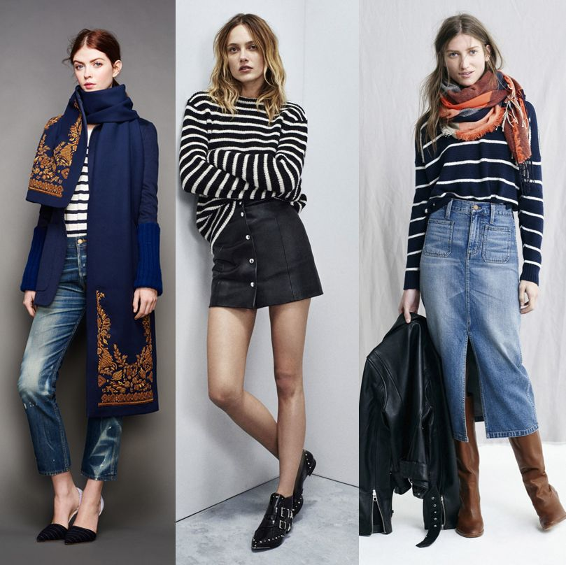 J. Crew, Iro and Madewell Fall Winter 2015 collection