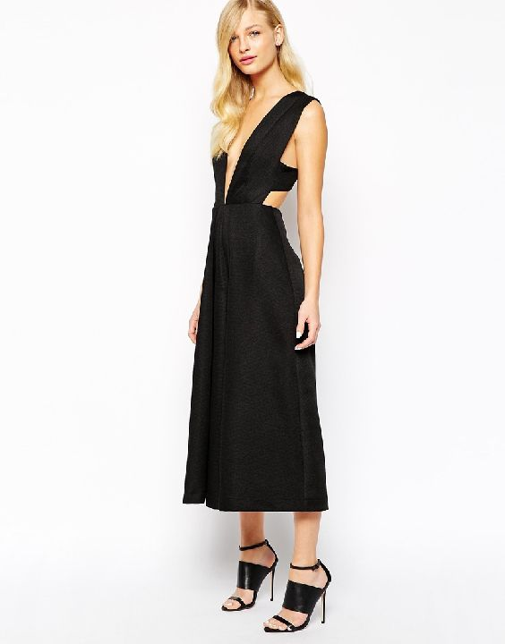 Solace London Anna cullotte jumpsuit available at ASOS