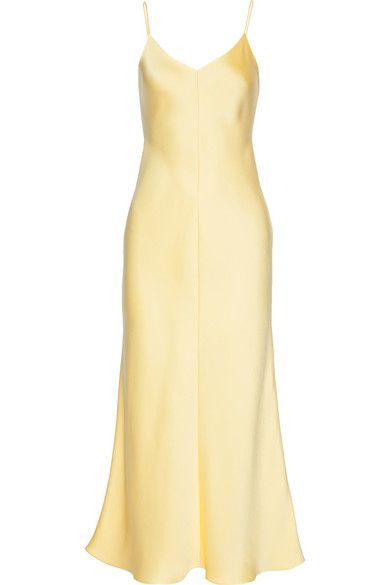 The Row Guinevere silk satin gown available at NET-A-PORTER