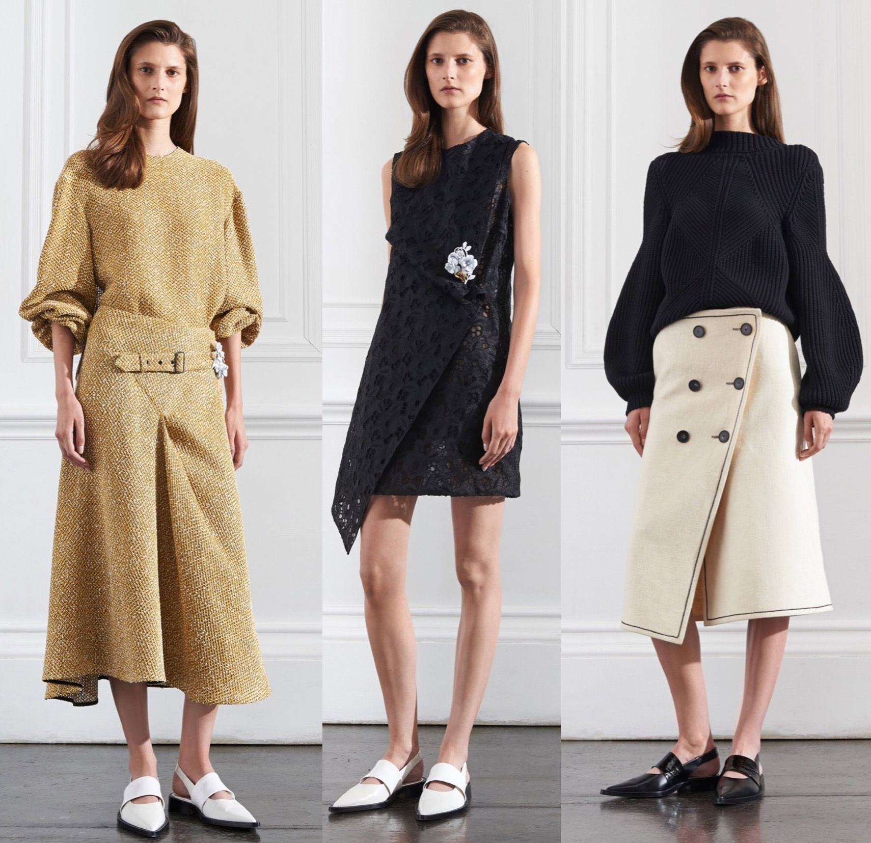 Victoria Beckham Debuts Resort 2016 Collection In New York