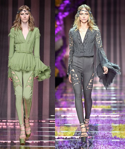 Versace : Runway - Paris Fashion Week - Haute Couture Fall/Winter 2015/2016
