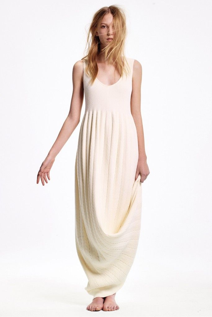 Ribbed-knit maxi dress available at NET-A-PORTER
