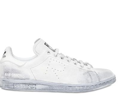 Adidas by Raf Simons Stan Smith vntage leather sneakers avilable at LUISVIAROM.com
