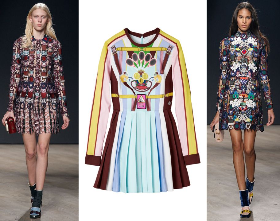 LAIA'S PICK: pleated dress available at MARYKATRANTZOU.com