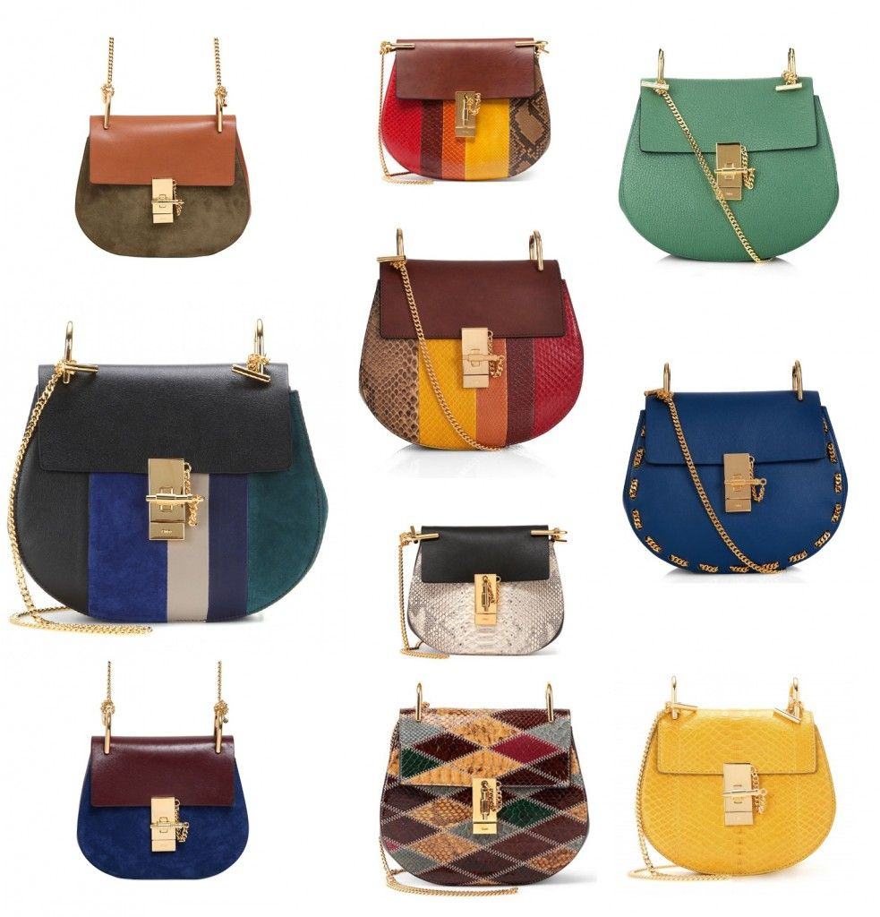 CHLOÉ DREW SHOULDER BAG FALL 2015 FULL COLLECTION: