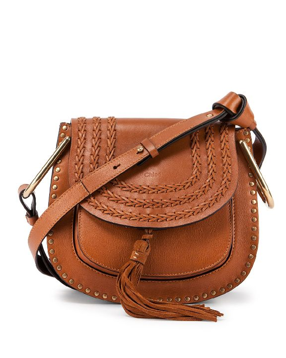 Chloé Hudson medium shoulder bag in caramel leather is available at NEIMAN MARCUS