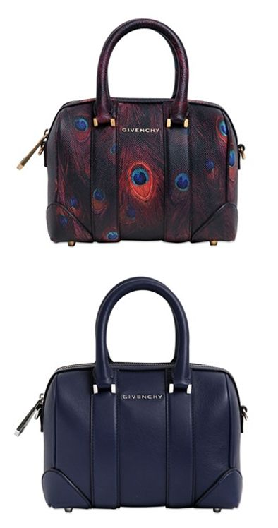 Givenchy Lucrezia micro printed leather bowling bag available at LUISAVIAROMA.com