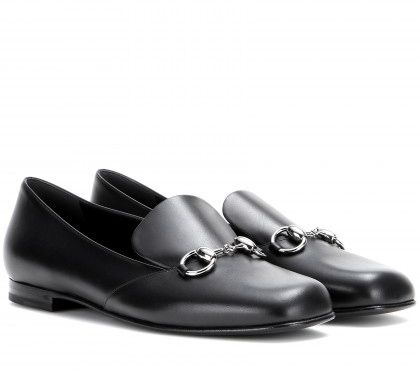 LAIA'S PICK: Gucci Twiggy leather loafers available at MYTHERESA.com