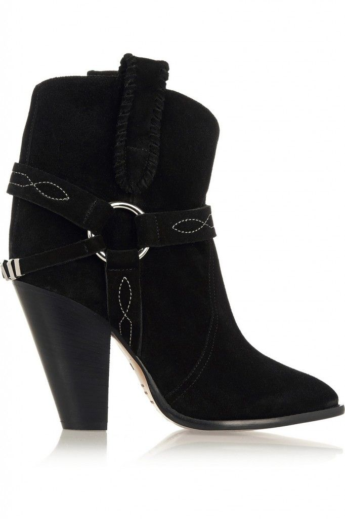 Isabel Marant Étoile Rawson suede ankle boots available at NET-A-PORTER