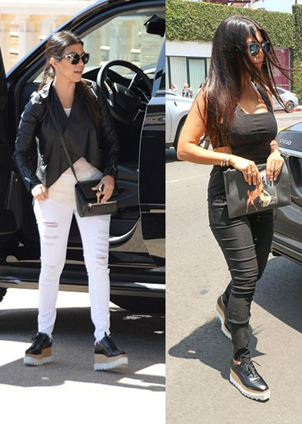 Kourteny Kardashian on June 16 and June 25, 2015 in Los Angeles, California.