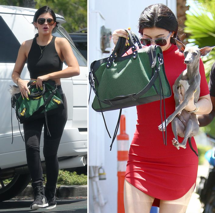 Kylie Jenner shops at Sephora