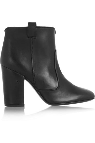 Laurance Dacade Pete leather ankle boot available at NET-A-PORTER