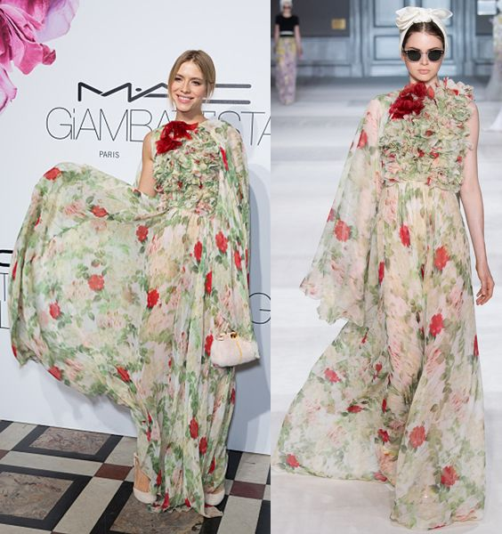 M.A.C Cosmetics & Giambattista Valli - Floral Obsession Ball : Paris Fashion Week - Haute Couture Fall/Winter 2015/2016 At Opera Garnier