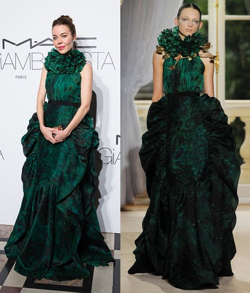 Ulyana Sergeenko in Valli Haute Couture Fall 2012