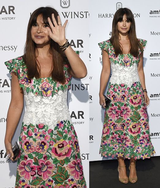 FRANCE-AMFAR-FASHION-PEOPLE