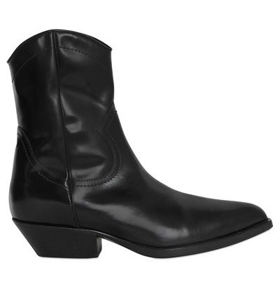 philosophy-di-lorenzo-serafini-black-leather-cowboy-boots