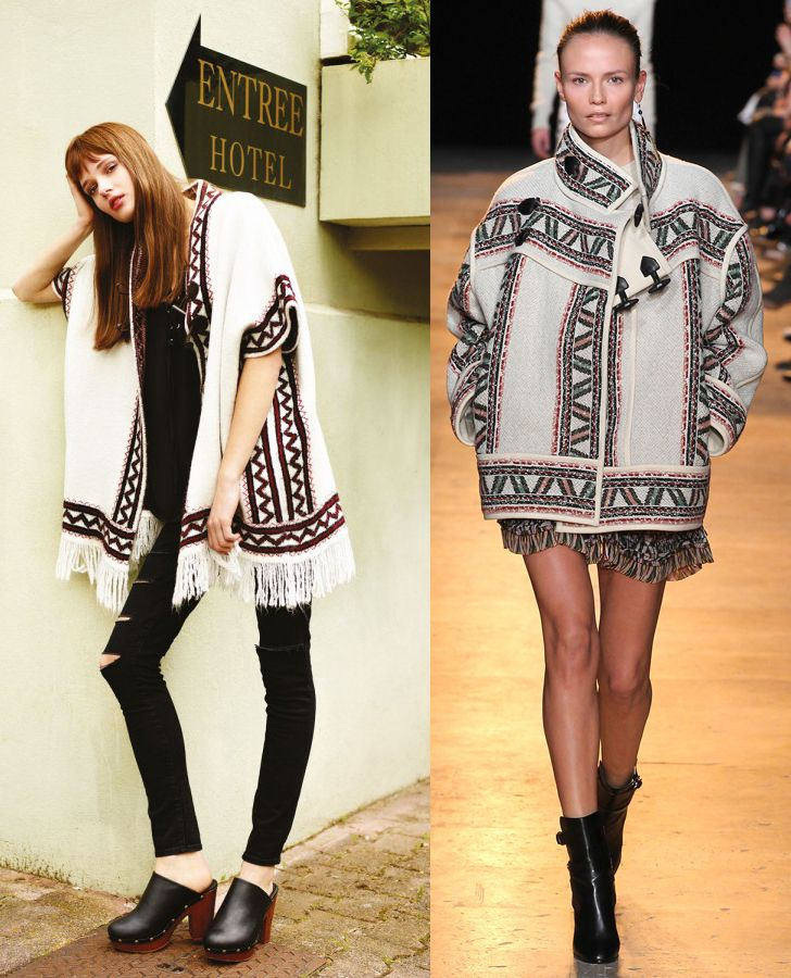 Primark Fall Winter 2015 collection Vs. iSABEL Marant