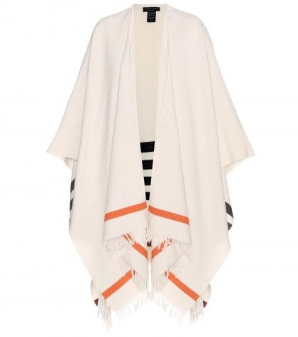 Rag & Boen wool-blend poncho available at MYTHERESA.com