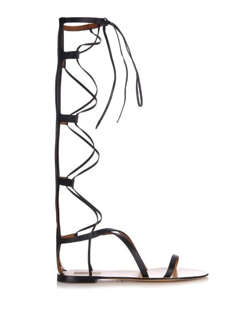 valentino-aphrodite-gladiator-lace-up-black-leather-sandals