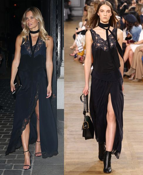 Bar Refaeli in Chloé FW15