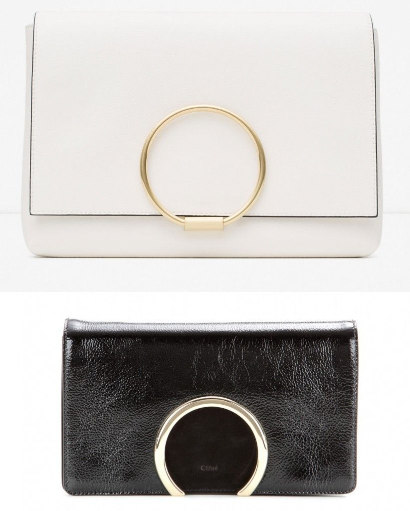 zara-vs-chloe-gabrielle-clutch-bag