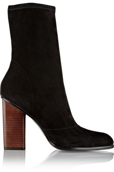 alexander-wang-gia-black-stretch-suede-ankle-boots
