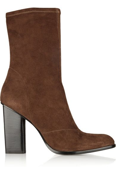 alexander-wang-gia-chocolate-stretch-suede-ankle-boots