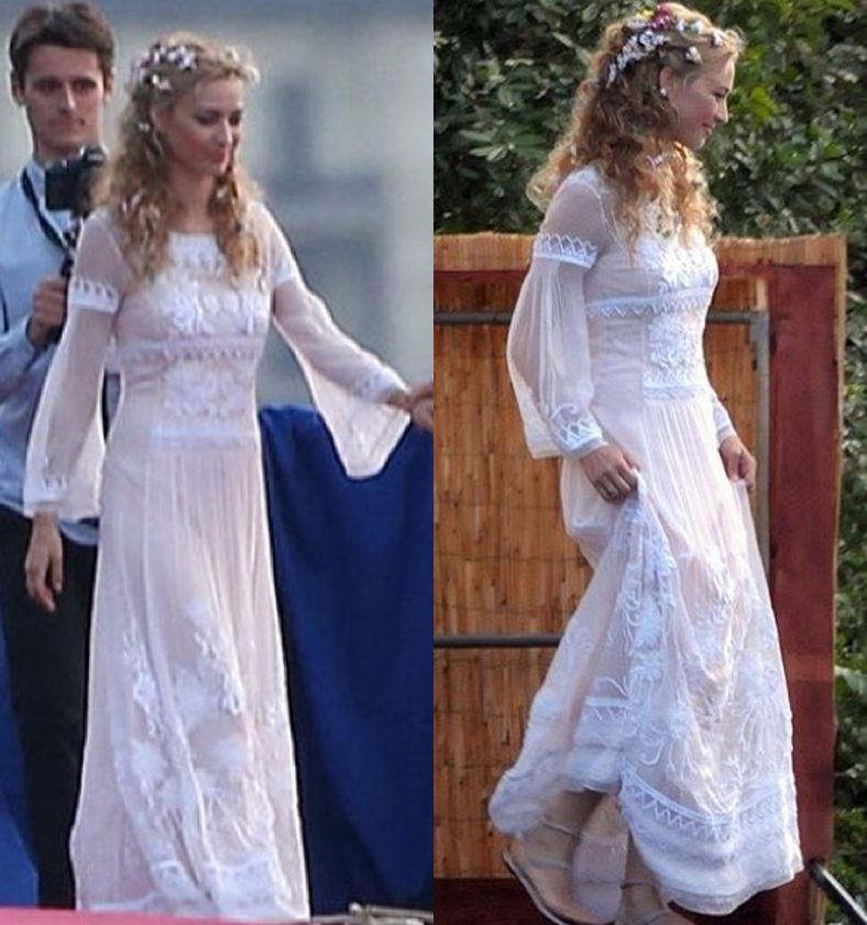 beatrice-borromeo-alberta-ferreti-floral-embroidered-white-gown-before-religious-wedding