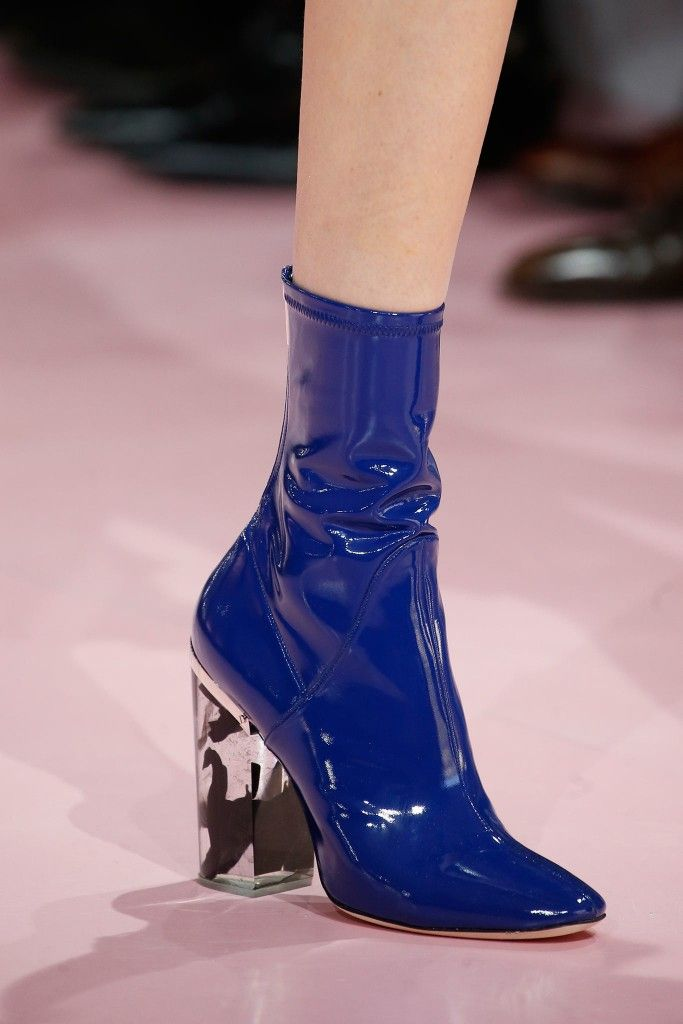 Dior FW15 glove-like ankle boots