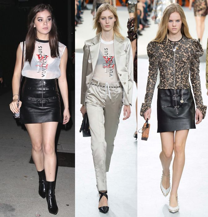 Hailee Steinfeld in Louis Vuitton FW15