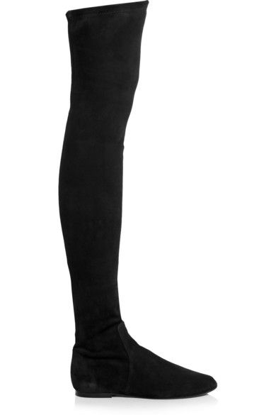 Isabel Marant stretch-suede over-the-knee boots available at NET-A-PORTER