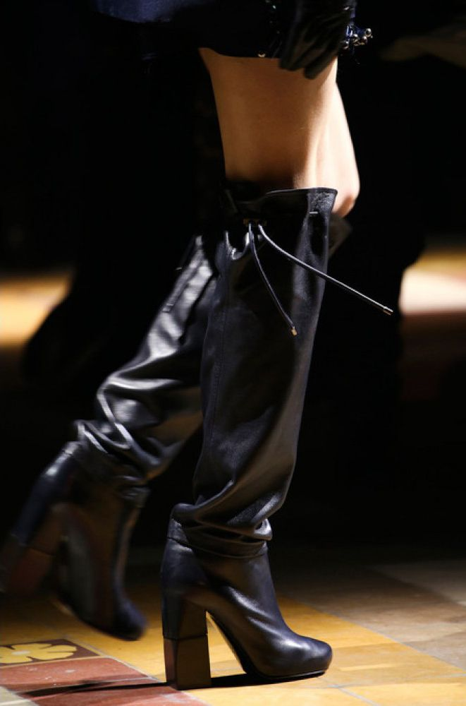 Lanvin FW15 over-the-knee boots