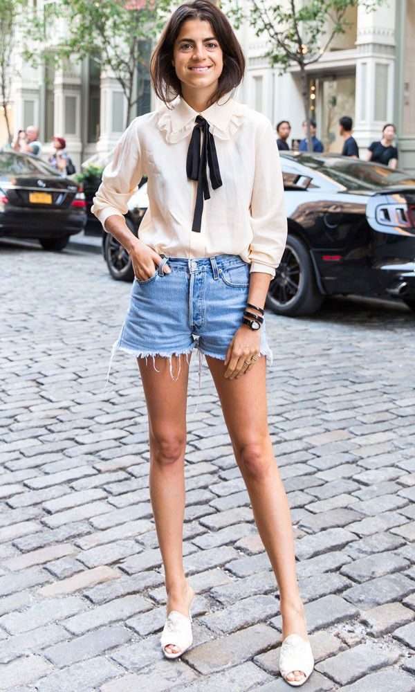 leandra-medine-denim-cutoffs-summer-2015