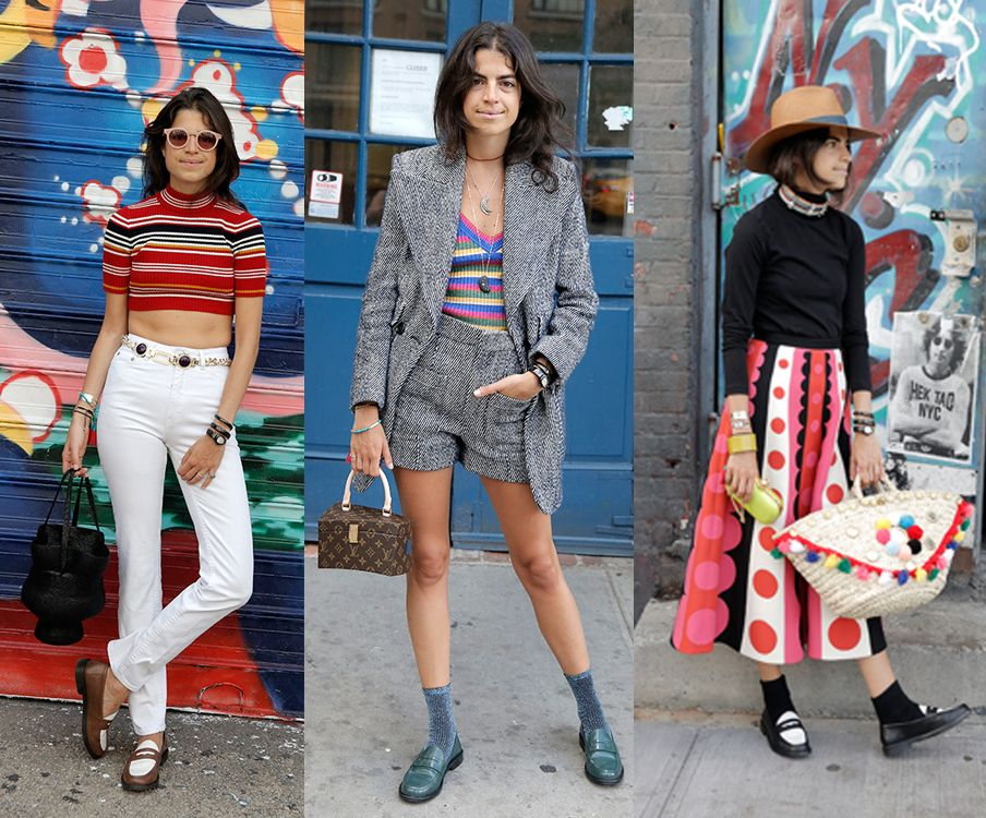 Fall 2015 loafers: how to style them according to Leandra Medine and ...