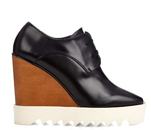 Stella McCartney Leana black faux-leather