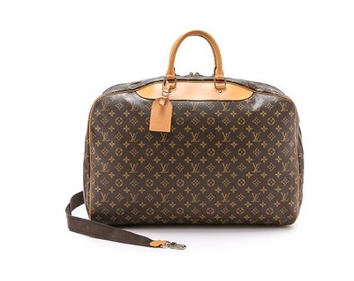 Vintage Louis Vuitton Alize briefcase by What Goes Around Come Aroeund available at SHOPBOP.com