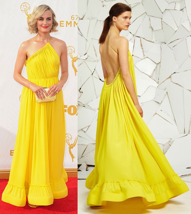 Lovely Taylor Schilling in Stella McCartney Resort 2016.