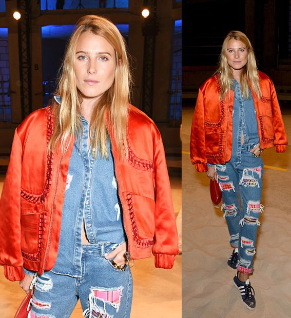 Dree Hemingway attends the House Of Holland show during London Fashion Week SS16 at Collins Music Hall on September 19, 2015 in London, England. (Photo by David M. Benett/Dave Benett/Getty Images)