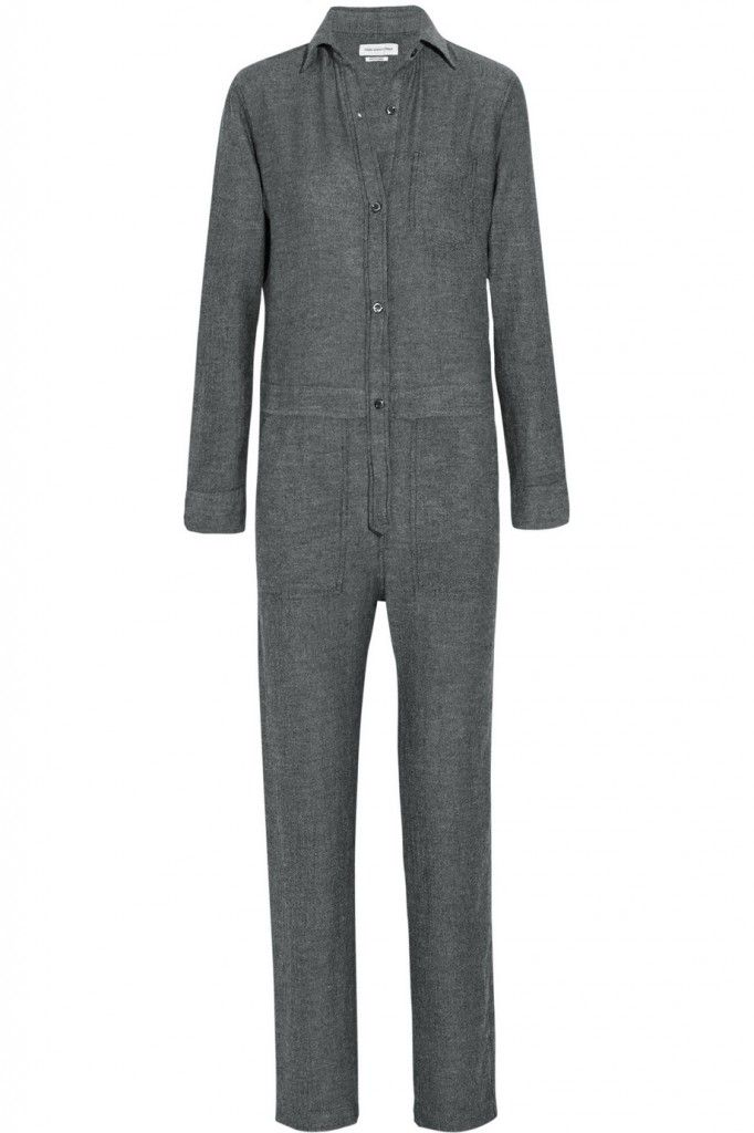 Étoile Isabel Marant gabardine jumpsuit available at NET-A-PORTER