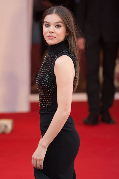 Actress Hailee Steinfeld attends a premiere for 'Black Mass' during the 72nd Venice Film Festival at on September 4, 2015 in Venice, Italy. (Photo by Luca Teuchmann/Getty Images)