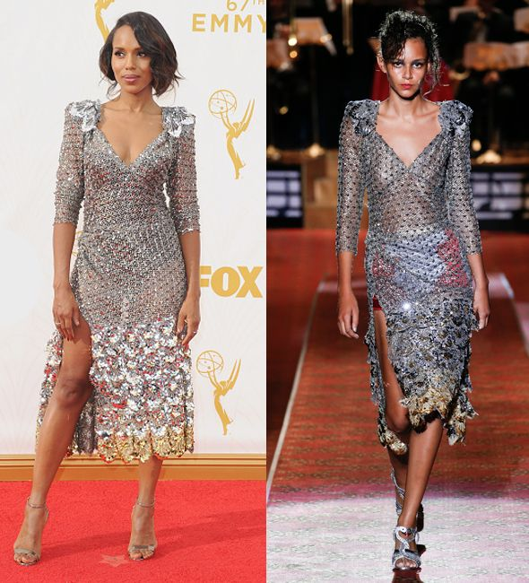 STUNNER: Kerry Washington debuting the Marc Jacobs Spring Summer 2016 collection!