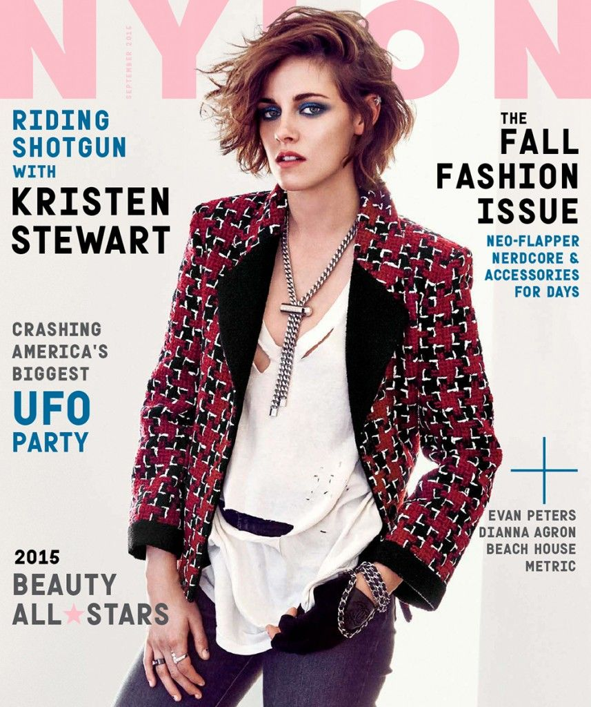 Nylon September 2015 Kristen Stewart by Olivia Malone