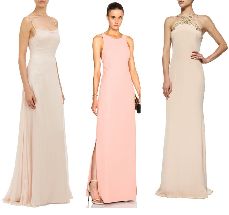 Esteban Cortazar slipdress gown available at