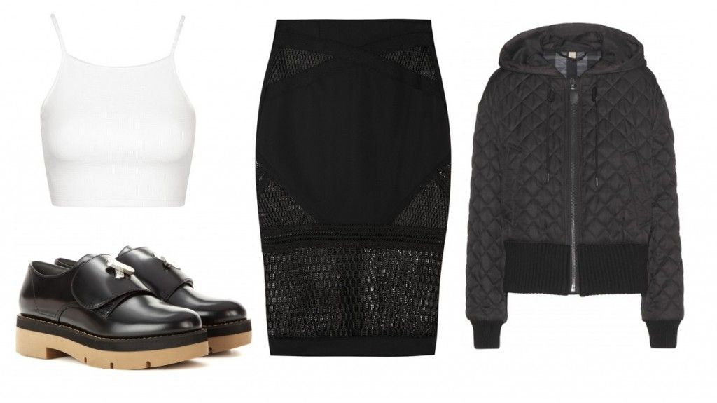 look-mesh-skirt-quilted-jacket